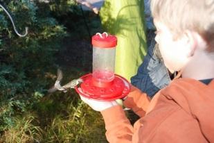 Ashton is a calm, cool, collected bird master.